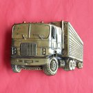Vintage Trucking 18 wheeler Indiana Metal Craft belt buckle
