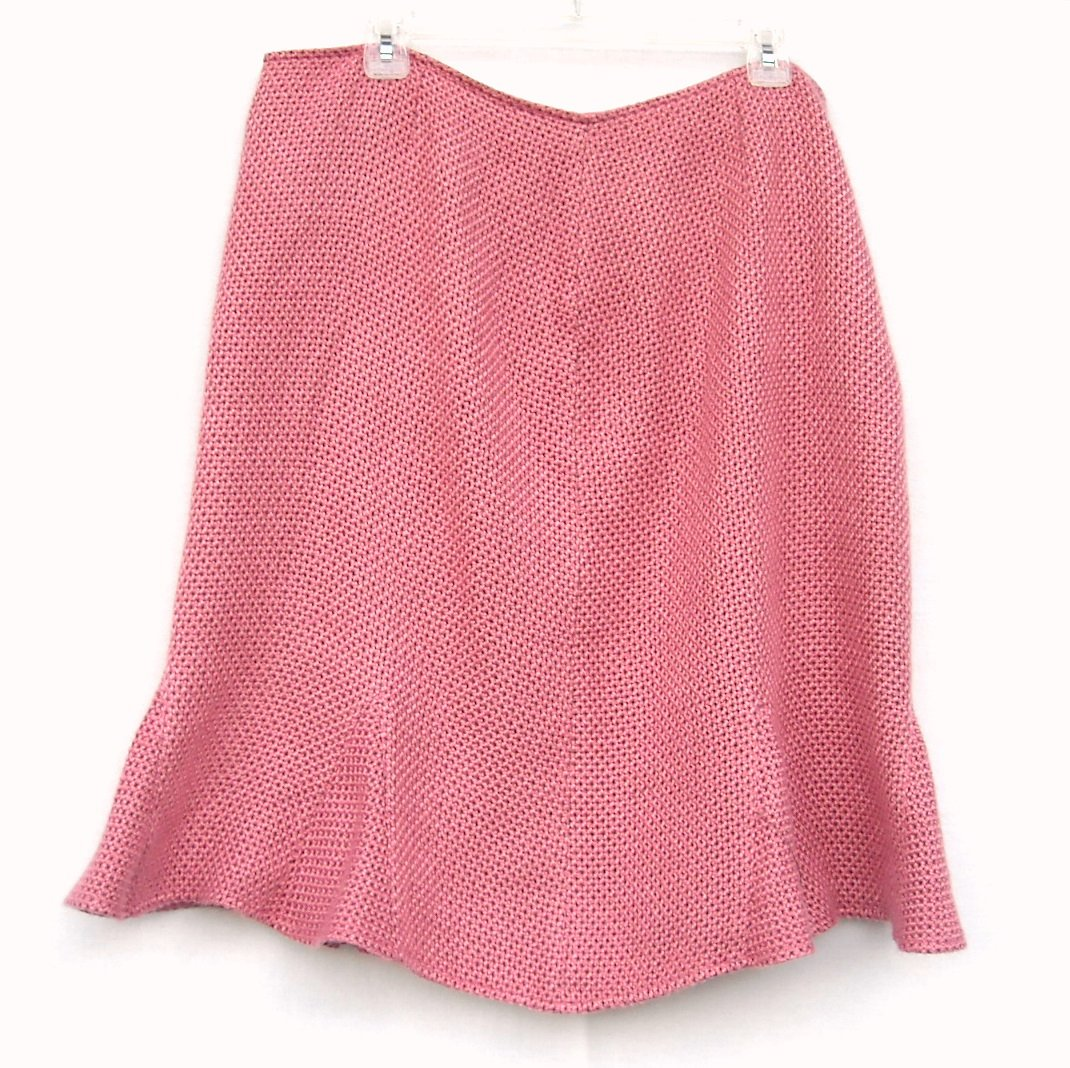 Emma E James Vintage Knit Lined Skirt Size 18