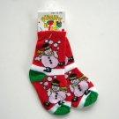 Funny Kids baby booties Snowman socks 1 - 3 years NWT