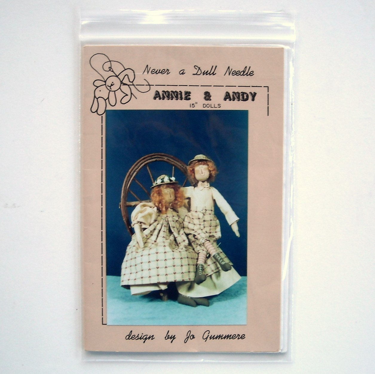 Never A Dull Needle Annie And Andy Doll Crafts Pattern