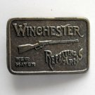 Vintage Winchester Repeating Arms Brass Brass Color Belt Buckle