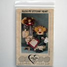 Hickory Grove Farms Bless My Stitchin Heart Country Angels Doll Crafts pattern # BD 111