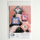 RiverTown Designs Snowy Ornaments Embroidered Crafts Pattern RT99