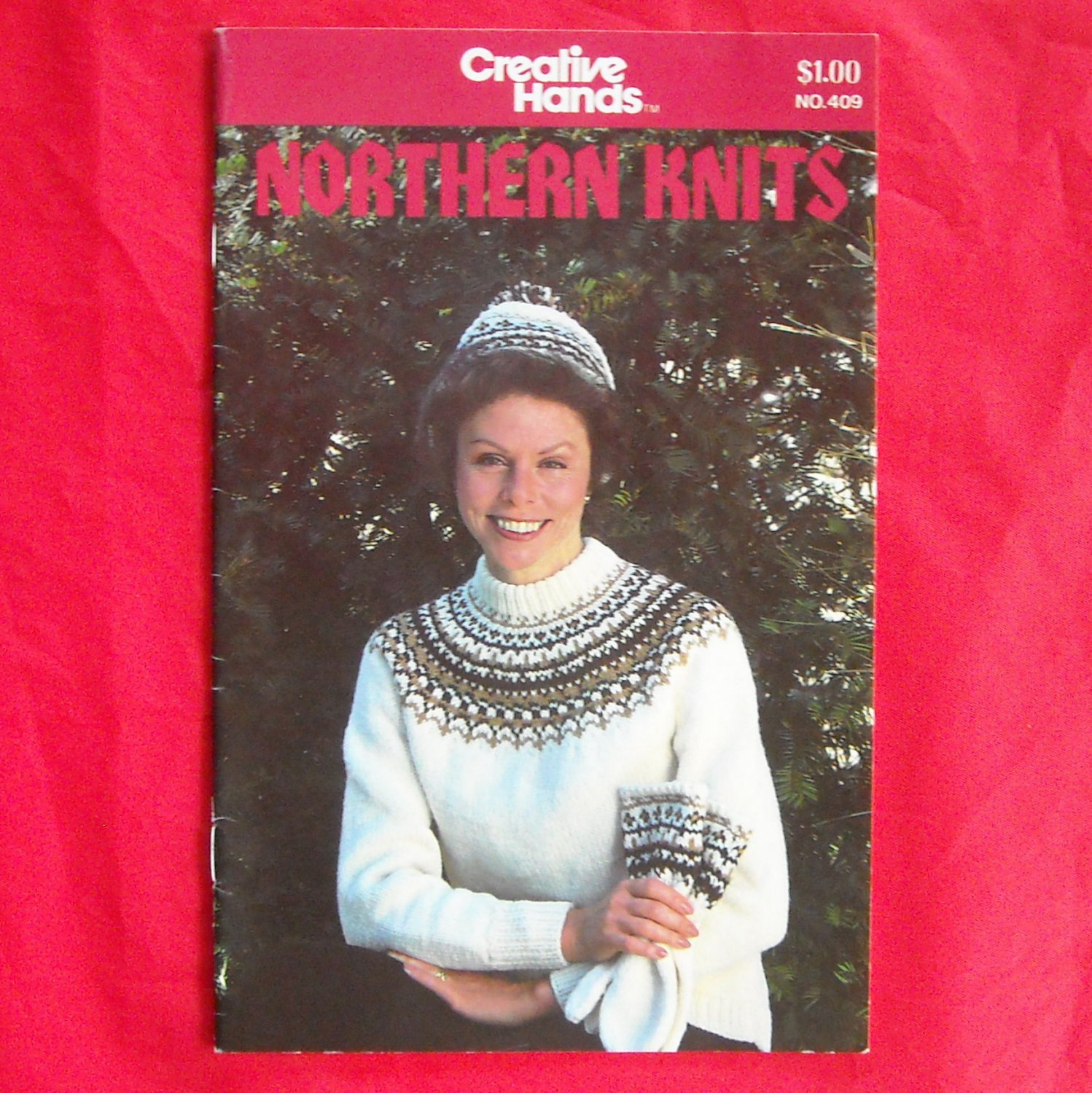 Vintage Creative Hands Northern knits no. 409 from 1981