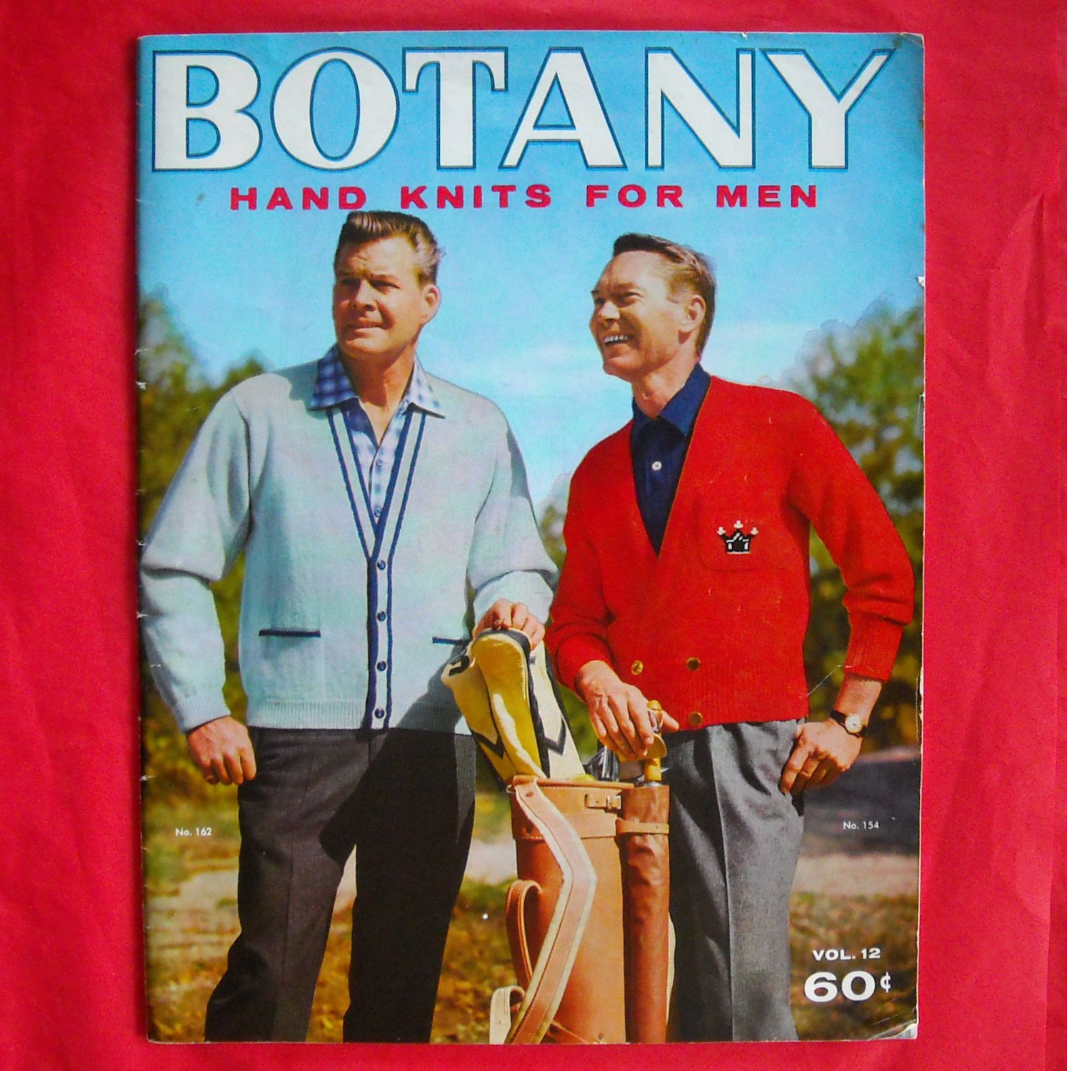 Vintage Botany Hand knits for men vol. 12 from 1958