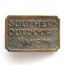 Southern Outdoors Magazine Great American Buckles Chicago Brass belt buckle