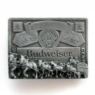 King Of Beers Budweiser Great American Pewter Alloy 3D Belt Buckle