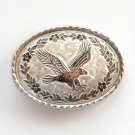 Landing Eagle Silver Color metal alloy buckle to fit 1 inch belt