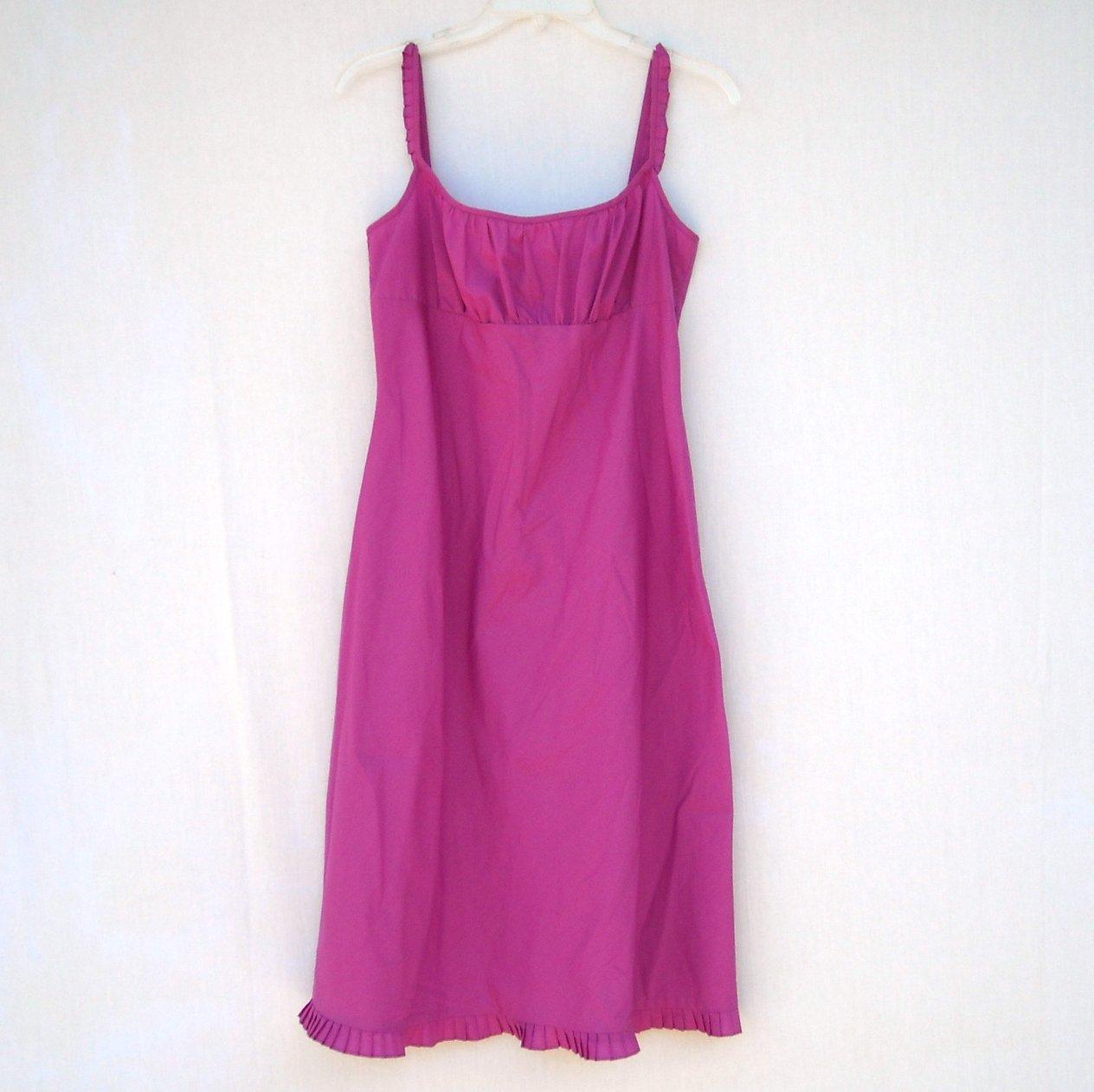 Misses Juniors Purple ETRE Dress 100% Cotton Size 14