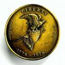 Liberty Vintage Tiffany Studio New York Brass Color Belt Buckle