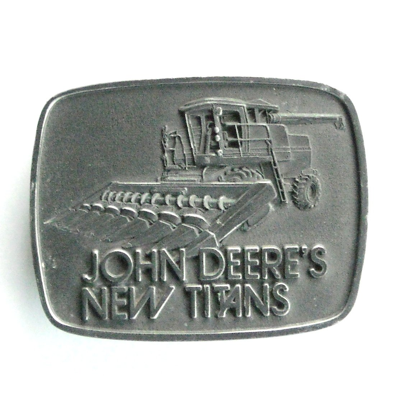 John Deere New Titans 1978 Belt Buckle