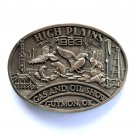High Plains Guymon Oklahoma Award Design Solid brass belt buckle