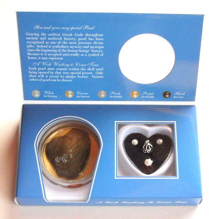 Natural Freshwater Pearl Make A Wish Dong Hui Blue Gift Set