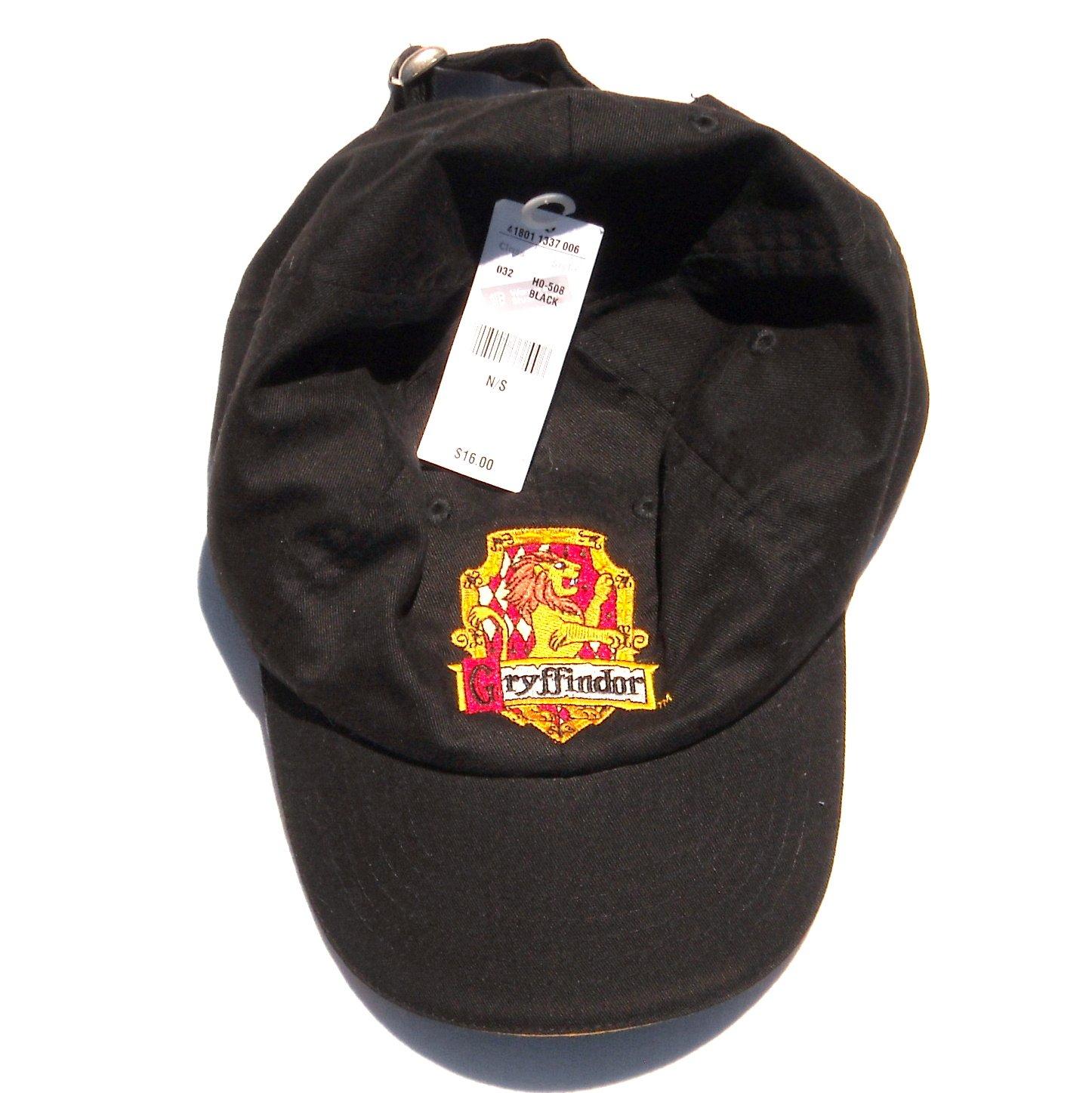Harry Potter Warner Movie Studios Gryffindor Black Cap