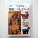 Simplicity Sewing Pattern 7606 Crafts Bear Dress Hats Jackets