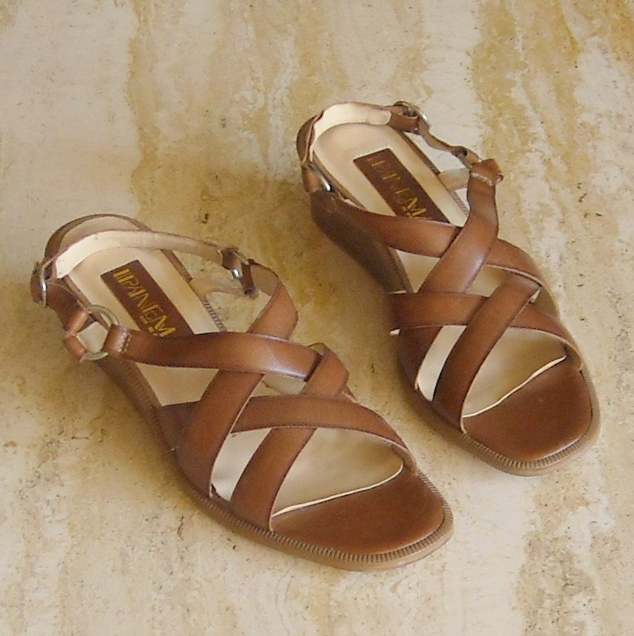Ipanema Womens Shoes Leather Size 7 N