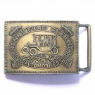 Model T Original Henry Ford Detroit Brass belt buckle