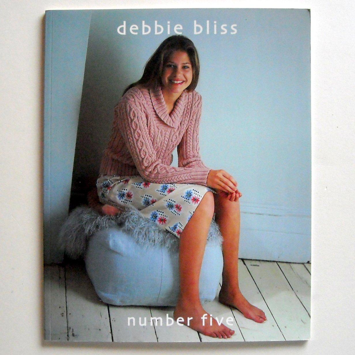 Debbie Bliss Book Number Five Ten Designs pattern book