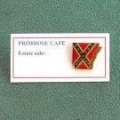 Arkansas Rebel Flag Tie Tac Pin