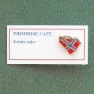 South Carolina Rebel Flag Tie Tac Pin