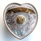 Trophy Buckle Stockton Skeet Shooting Montana Silversmiths belt buckle
