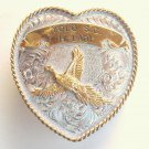 Trophy Buckle Skeet Shooting Yolo Montana Silversmiths belt buckle