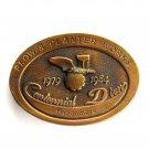 John Deere Limited Edition 1984 Plow Planter Works Belt Buckle