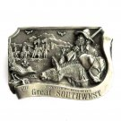 Great Southwest 3D Limited Edition 1985 Arroyo Grande Belt Buckle