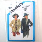 Misses Lined Blazer Size 12 Simplicity Sewing Pattern 6493