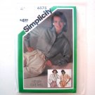 Simplicity Sewing Pattern 6575 Size 12 Misses Loose Fitting Shirts