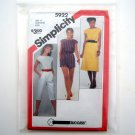 Jumpsuit Romper Dress Size 12 - 16 Misses Simplicity Sewing Pattern 5922