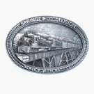 Burlington Northern Springfield Limited Edition Pewter Belt Buckle