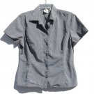 Gap Misses Button Down Shirt Blouse Top Size L