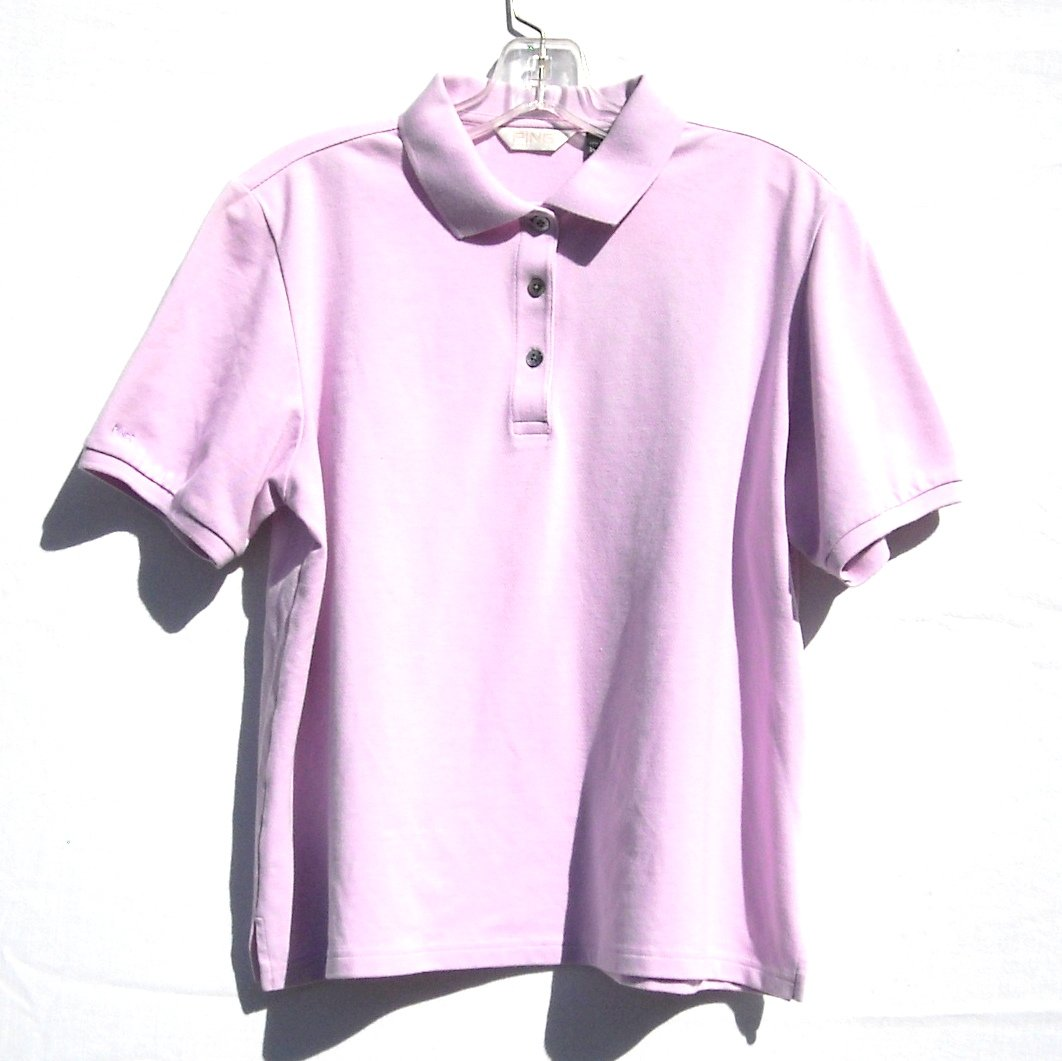 Ping Misses Womens Golf Cotton Blend Shirt Blouse Top Size L