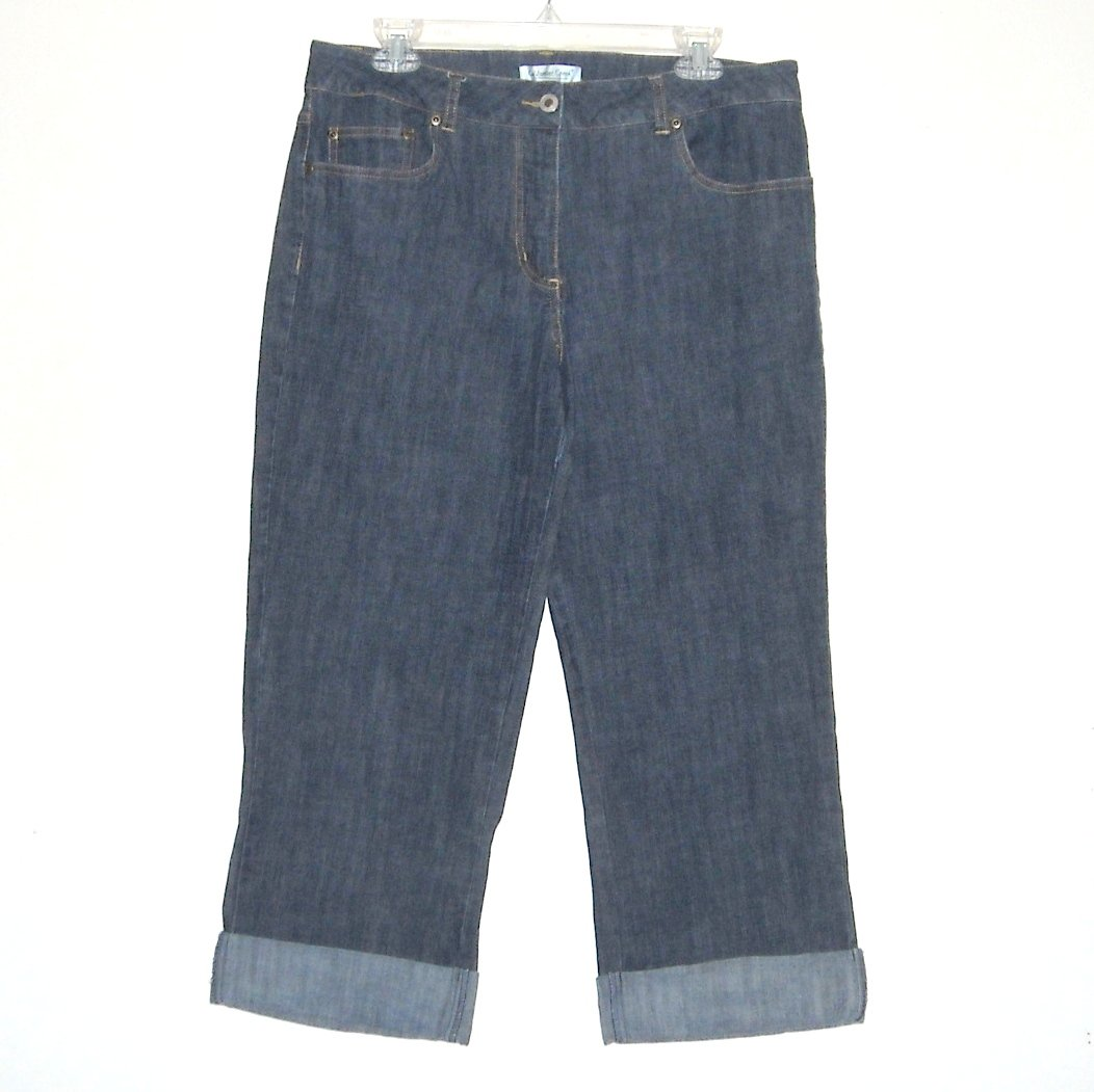 Coldwater Creek Capri Jeans Pants Size 14