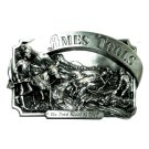 Gold Rush Of 1849 Vintage 1985 Siskiyou Ames Tools Belt Buckle