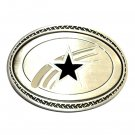 Dallas Cowboys Beige Great American Products Fine Pewter NFL Belt Buckle