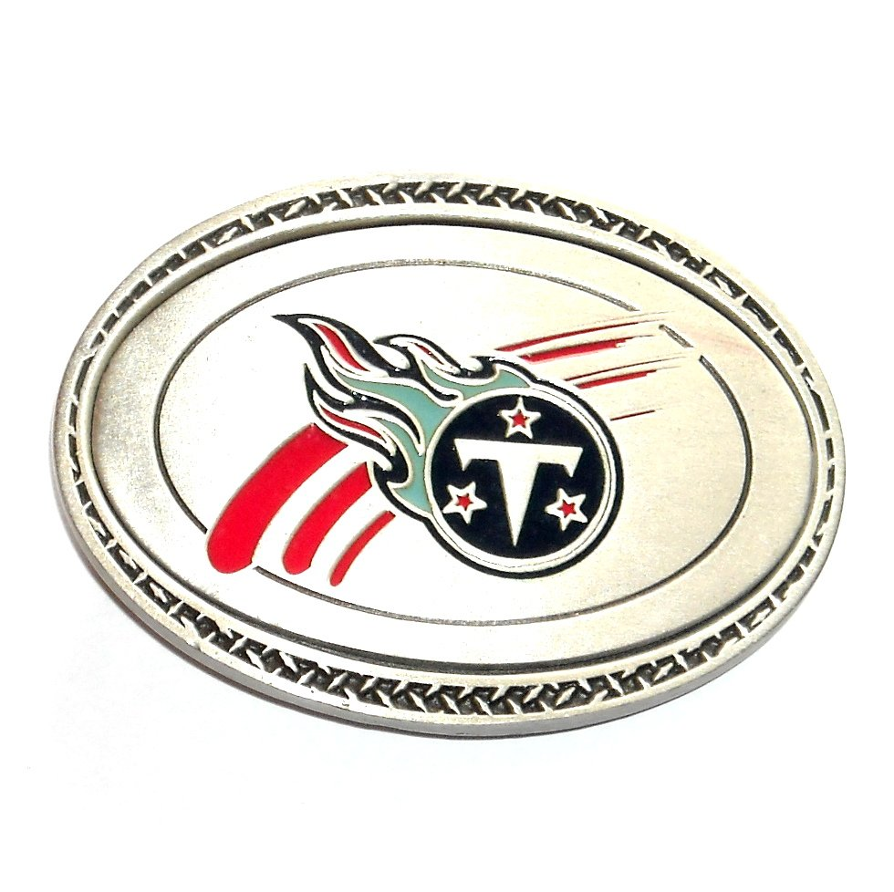 Tennessee Titans Great American Products Fine Pewter NFL Belt Buckle