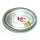 Kansas City Chiefs Great American Products Fine Pewter NFL Belt Buckle