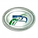 Seattle Seahawks Great American Products Fine Pewter NFL Belt Buckle
