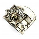 Pittsburgh Pirates Baseball MLB Pewter GAP Belt Buckle