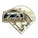 Houston Astros Baseball MLB Pewter GAP Belt Buckle