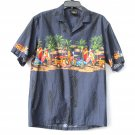 Royal Creations Men's Hawaiian Shirt size M