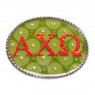 Alpha Chi Omega Womens Little Gorilla Design No 2 Belt Buckle