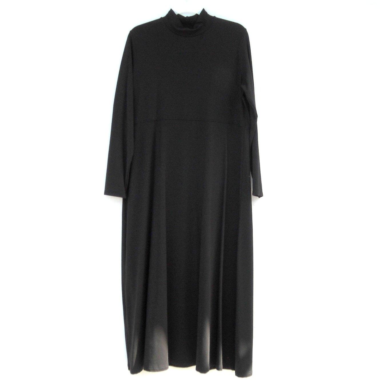 Womens TravelSmith Petite Black Dress Size L