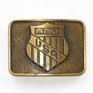 AAU Amateur Athletic Union USA Brass Color R J Roberts Belt Buckle