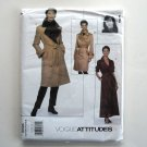 Misses Petite Coat and Dress Vogue Attitudes Sewing Pattern 2026