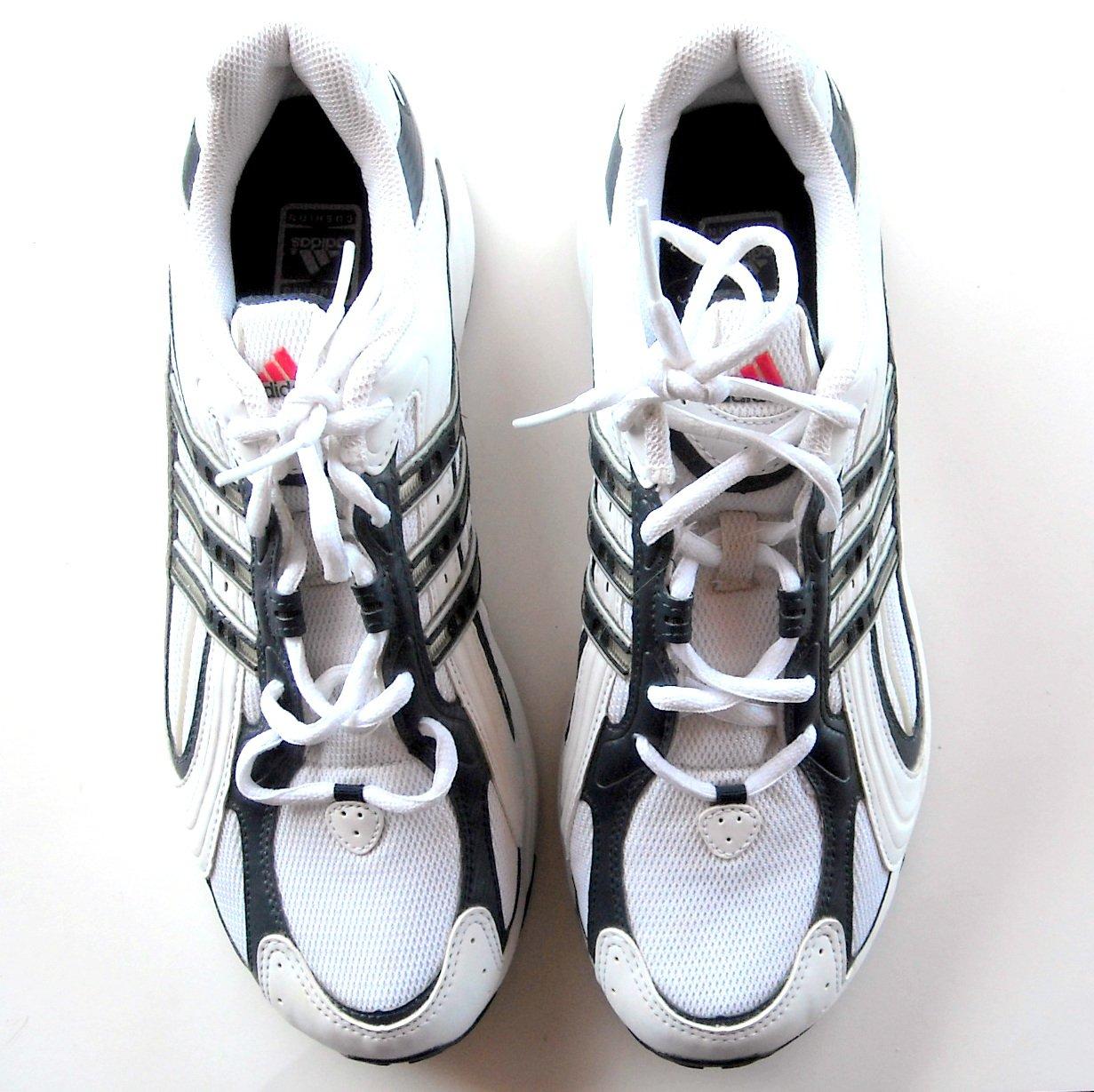 Adidas Adiprene Originals White Running Shoes Size 9.5 US