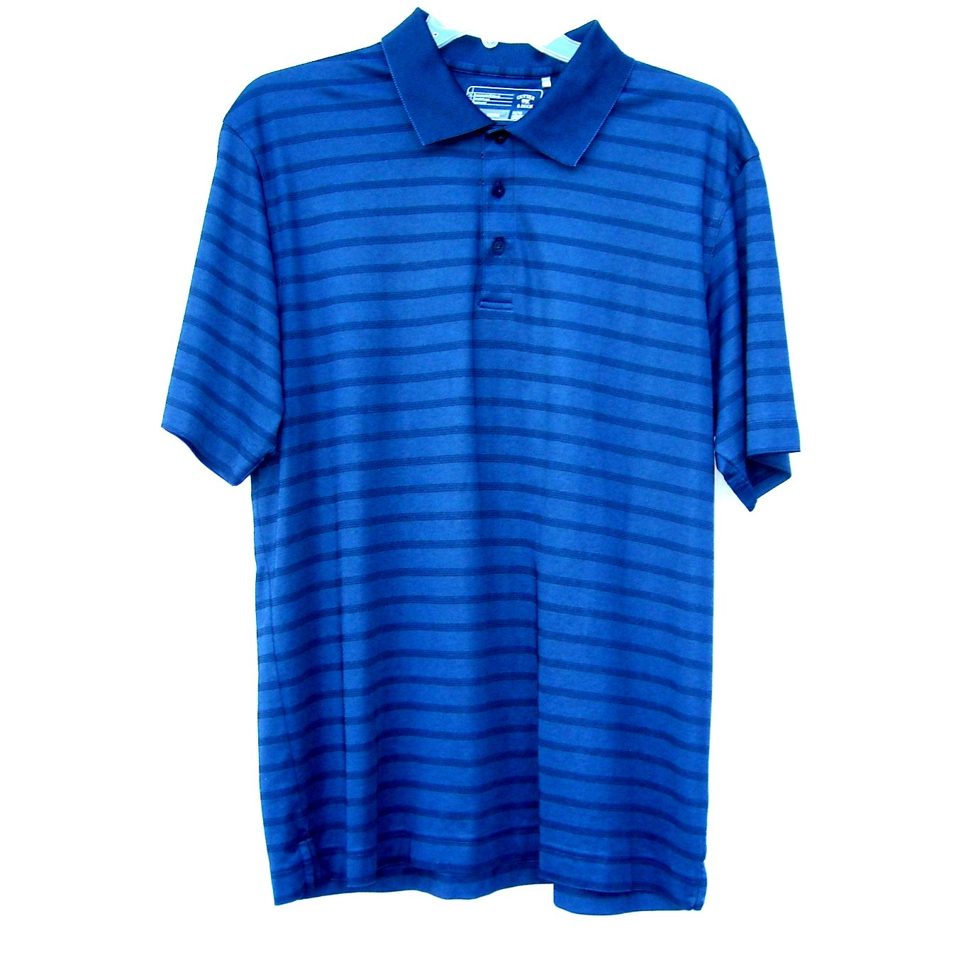 Cutter & Buck CB Dry Tec Blue Golf Polo Shirt Size XL