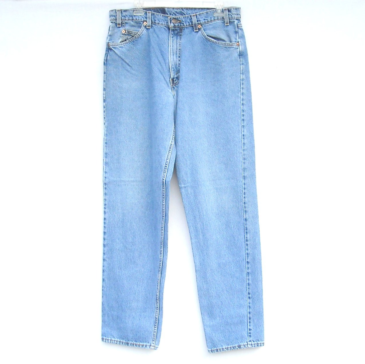 Levi Strauss 555 Relaxed Straight Blue Jeans Size 36 X 34